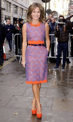 Amanda Holden At The Britain's Got Talent Auditions, January 2013