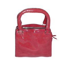 2003 Miu Miu begonia patent leather bag
