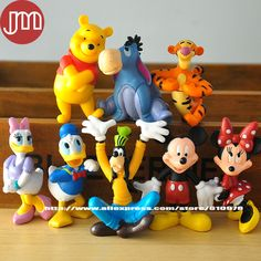 Find More Action & Toy Figures Information about New 8 PCS Mickey Minnie Mouse Figures Donald Duck Goofy Dog Daisy 5cm Clubhouse Anime Cartoon Kids Toys Free Tracking,High Quality track car toy,China track stories Suppliers, Cheap track bracelet from M&J Toys Global Trading Co.,Ltd on Aliexpress.com