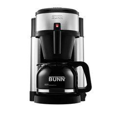 BUNN NHS Velocity Brew 10-Cup Home Coffee Brewer Best Drip Coffee Maker, Coffee Maker Machine, Cappuccino Machine, Coffee Machines, Espresso Machine, Espresso Coffee, Black Coffee, Coffee Cups, Tassimo Coffee