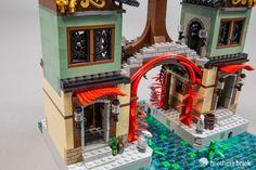 Building Ninjago City: The Brothers Brick open collaboration [Feature] Lego Ninjago City, Lego City, Lego Movie Sets, Amazing Lego Creations, Lego Building Blocks, All Lego, Lego Modular, Lego Castle, Lego Architecture