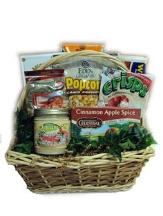 diabetic heart healthy gift basket for men with heart disease and diabetes