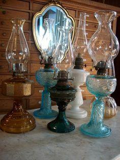 lamparas antiguas de porcelana - Buscar con Google