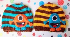 TWIN ALIEN MONSTER Newborn SetPlease read by NinisHandmades, $48.00
