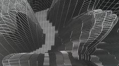 #austria #linz #arselectronica #museum #3d #hologram #visualization