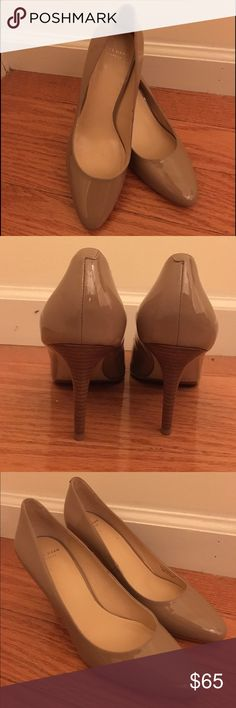 Cole Haan Lena Pump Cole Haan Lena Pump in Maple Sugar (Similar to a Tan color). It is patent leather and has a 2.25 inch heel. Condition is Like New! It was only worn once. Cole Haan Shoes Heels