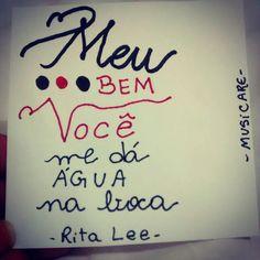 """musicare: """" Mania de você - Rita Lee """""""