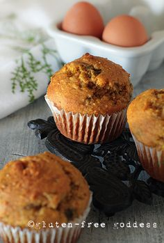 Gluten-Free Corn Muffins- with a touch of pumpkin and spiked with green chiles #muffins #glutenfree
