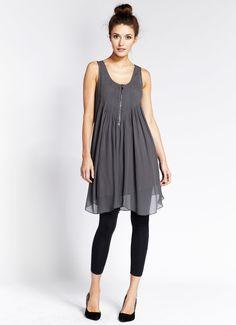 Storm Swing Pintuck Dress. Adorable, versatile, affordable