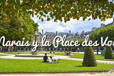 Le Marais y la Place des Vosges: El barrio cosmopolita #paris #viajar #turismo #travel