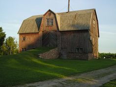 This Barn would make a nice house!