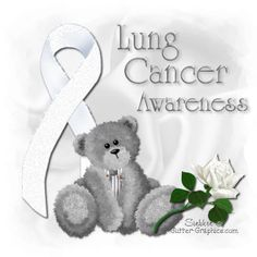 Animated Gif by Lorie Simmons Lung Cancer Causes, Lung Cancer Awareness, Colon Cancer, Breast Cancer Survivor, Bone Cancer, Cancer Quotes, Cancer Support, Cancer Treatment, Fighting Cancer