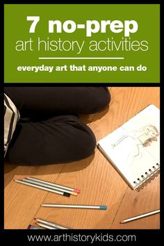 Fun and educational projects for kids to learn about art history. Art history for kids, art projects for kids, kids art history lessons, art history homeschool units. Art History Lessons, History Activities, History For Kids, History Projects, History Teachers, Art Lessons, Art Projects, History Class, History Memes