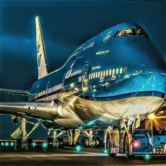 La Reina de los Cielos.. Bpeing 747..Belleza Pura!