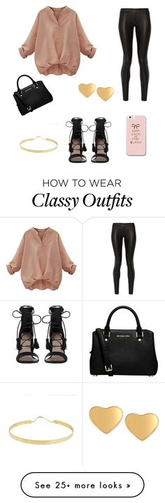 """Casual Party?"" by nybor-rram on Polyvore featuring The Row, Zimmermann, MICHAEL Michael Kors, Lana and T Tahari"