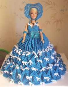 Barbie, 2013, Crochet, Cinderella, Disney Characters, Fictional Characters, Nostalgia, Creations, Gowns