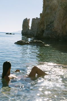 WATER / be in it more. Let it move you. Let it cleanse you. Whether it is the ocean the lakes the rain the shower. Summer Vibes, Summer Feeling, Summer Dream, Summer Of Love, Late Summer, Poses Photo, European Summer, French Summer, Italian Summer