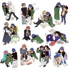 """あにゃあにゃ on Twitter: """"ダイスく……… """" Cute Anime Boy, Anime Guys, Manga, Rap Battle, Comic Games, Character Design Inspiration, Anime Art, Fan Art, Animation"""