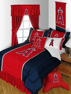 Los Angeles Angels Bedding Set