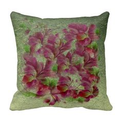 Soft Vintage Glitter Floral Throw Pillow http://www.zazzle.com/soft_vintage_glitter_floral_throw_pillow-189074371808901143?rf=238588924226571373