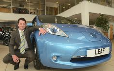 2013 was a record-breaking year for the Nissan LEAF in Europe with 11,120 sales, soaring by 204% compared to 2012