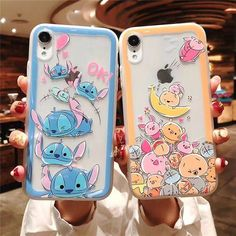 Minnie Mouse Stitch Pooh Winnie Cat Chipmunk Donald Duck iPhone Case - Iphone XR - Trending Iphone XR for sales - Minnie Mouse Stitch Pooh Winnie Cat Chipmunk Donald Duck iPhone Case