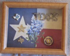 Texas Shadow Box by JimmiesArt on Etsy, $43.00 SOLD