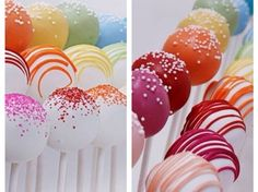 How to Make Perfect, Colorful Cake Pops! Recipe