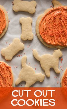 Cut out cookies are fun for any occasion!