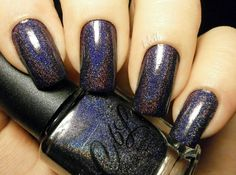 Nail of the Days - Rest in Pieces http://theearlybeautycatchestheblush.blogspot.de/2015/05/notd-colors-by-llarowe-rest-in-pieces-new-years-collection.html #ColorsbyLlarowe #RestInPieces #NewYearsCollection