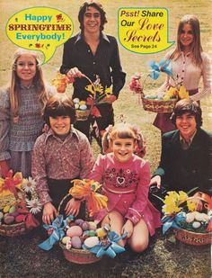 Bradys at Easter