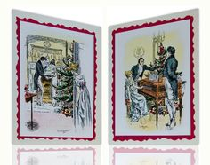 Jane Austen's Pride and Prejudice Christmas Cards