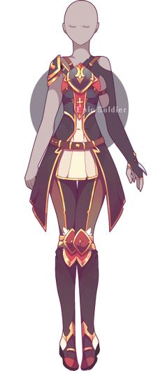 Outfit adoptable 46 (OPEN!!) by Epic-Soldier.deviantart.com on @DeviantArt