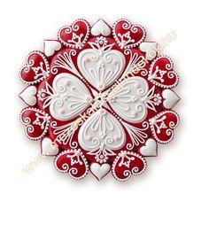 Hearts Mézeskalács ajándék minden alkalomra - Köszönetajándék - Reklámajándék