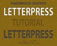 Easy tutorial to make text that will be printed digitally look like it has the dimension of letterpress.