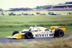 Rene Arnoux - Renault RS10 - 1979 British Grand Prix, Silverstone