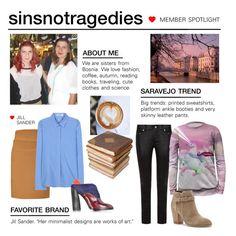 """Member Spotlight: Sinsnottragedies"" by polyvore ❤ liked on Polyvore featuring moda, Yves Saint Laurent, Mr. Gugu & Miss Go, Sole Society, Jil Sander, Ceramiche Pugi y MemberSpotlight"
