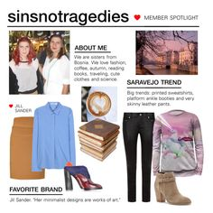 """Member Spotlight: Sinsnottragedies"" by polyvore ❤ liked on Polyvore featuring Yves Saint Laurent, Mr. Gugu & Miss Go, Sole Society, Jil Sander, Ceramiche Pugi and MemberSpotlight"
