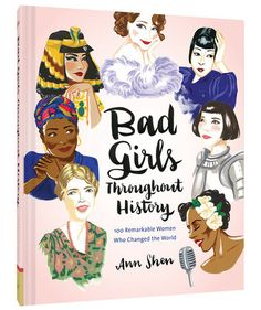 You had us at the title. This book looks at 100 powerful women in all different industries throughout history. With beautiful inspiration, how can you not be inspired.