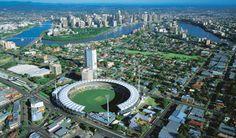Brisbane, sky view.