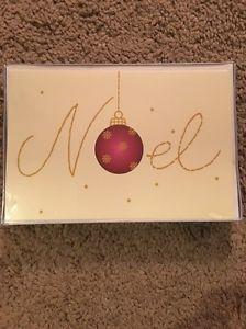 "Brand New Holiday Boxed Cards 18 Christmas Cards NIB ""Noel"" | eBay"