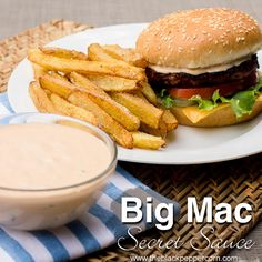 Copycat Big Mac Secret Sauce