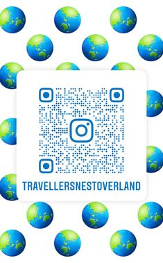 QR code to follow us on IG