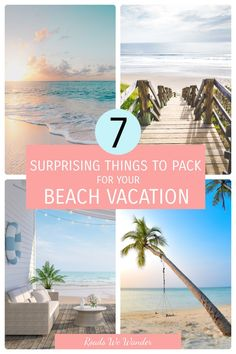 Want my best beach vacation packing tips? Don't leave for the sandy beach without packing these 7 things in your suitcase! Disney World Planning, Disney World Vacation, Visit Florida, Florida Travel, Winter Travel, Summer Travel, Sun Plan, Packing Tips For Vacation, Disney World Tips And Tricks
