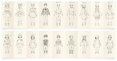 Fashionary Panel Kids Figure