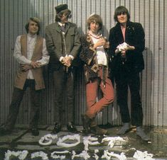 Soft Machine: Robert Wyatt, Daevid Allen, Kevin Ayers, and Mike Ratledge