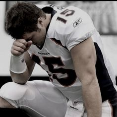 Tim Tebow is one of the most inspirational human beings I have ever come in contact with. A man on fire for Jesus Christ.
