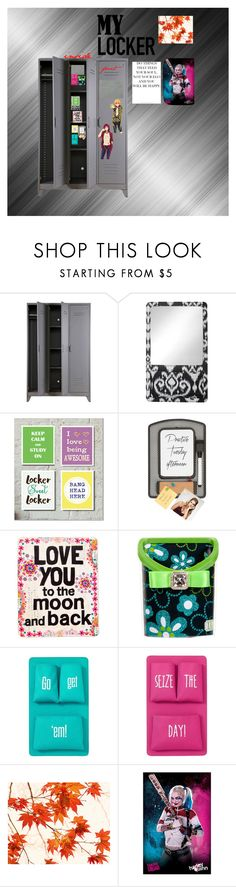"""""""my awesome locker"""" by ironkyle ❤ liked on Polyvore featuring interior, interiors, interior design, home, home decor, interior decorating, PBteen, Natural Life and mylocker"""