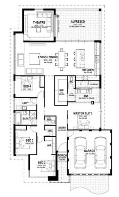 The Alkira - Lot 8 Wattleseed Avenue floorplan