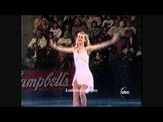 Tara Lipinski: Hershy's Kisses Challenge 3 -Gliding &  If You Believe ~1998